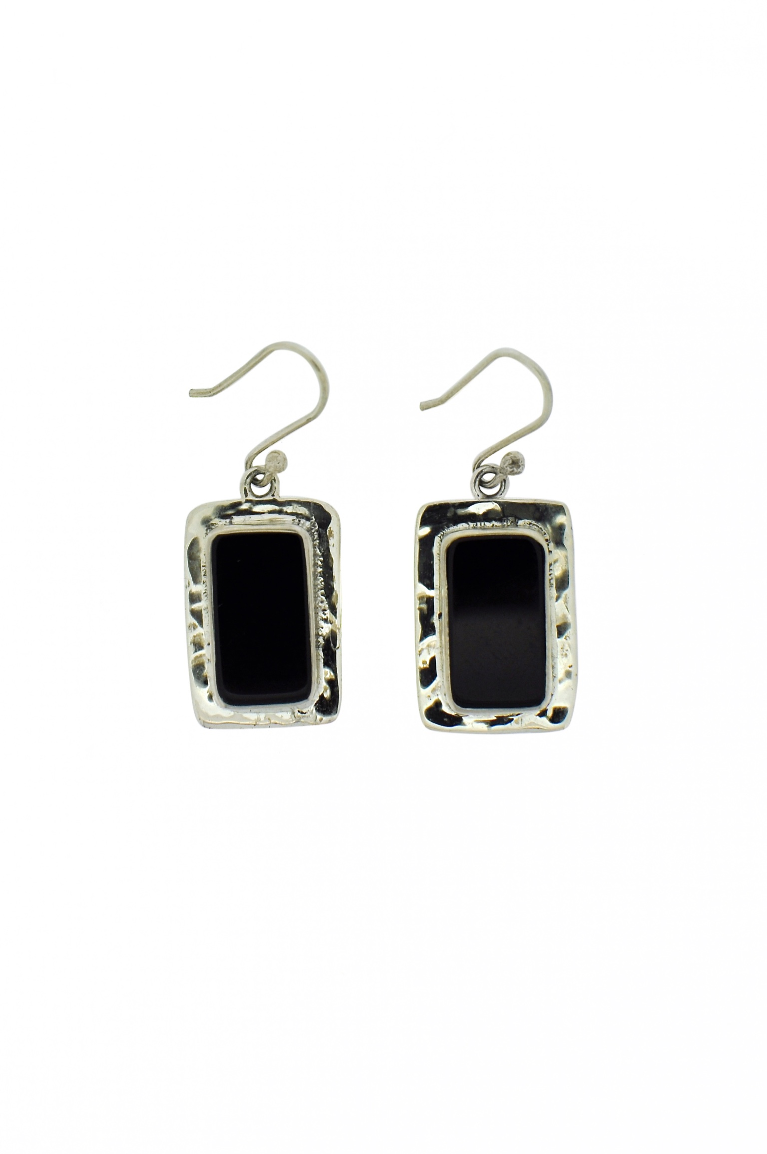 wire design product sterling earrings black bloomingoak onyx and kidney